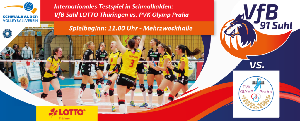 Internationales Testspiel in Schmalkalden