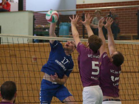 Schmalkalder VV (Herren I) : VC Jena 08