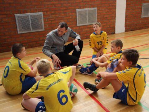 1. Runde des Thüringenpokals U14 männlich