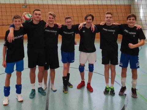 """Schulvergleich """"Jugend trainiert für Olympia"""" Wettkampfklasse II männlich KREISFINALE"""
