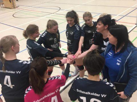 SV Concordia Lauchröden : Schmalkalder VV (Damen I)
