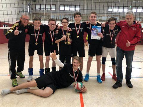 """Schulvergleich """"Jugend trainiert für Olympia"""" Wettkampfklasse II männlich SCHULAMTSFINALE"""