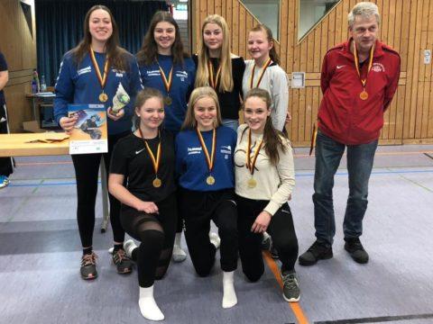 """Schulvergleich """"Jugend trainiert für Olympia"""" Wettkampfklasse II weiblich SCHULAMTSFINALE"""