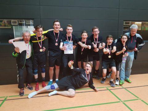 """Schulvergleich """"Jugend trainiert für Olympia"""" Wettkampfklasse II männlich LANDESFINALE"""