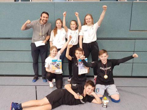 """Schulvergleich """"Jugend trainiert für Olympia"""" Wettkampfklasse IV weiblich"""