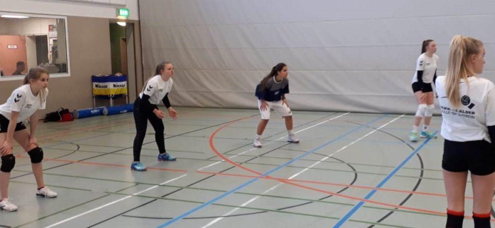 Testspiel der U18 weiblich