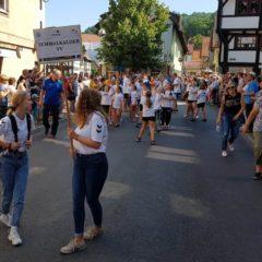 Stadtfestumzug der Stadt Schmalkalden