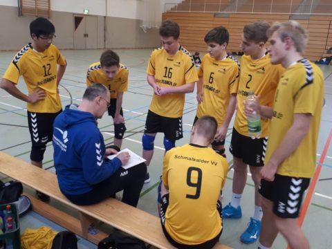 2. Runde – Thüringenpokal U18 männlich