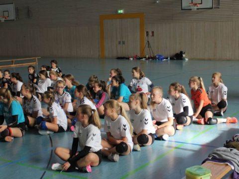 1. Runde der Landesmeisterschaft U16 weiblich