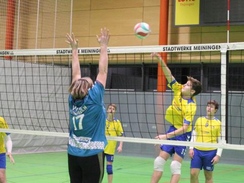 Volleyballverein 70 Meiningen : Schmalkalder VV (Herren III)