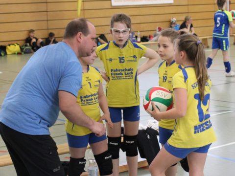 6. Runde der Landesmeisterschaft U12 weiblich
