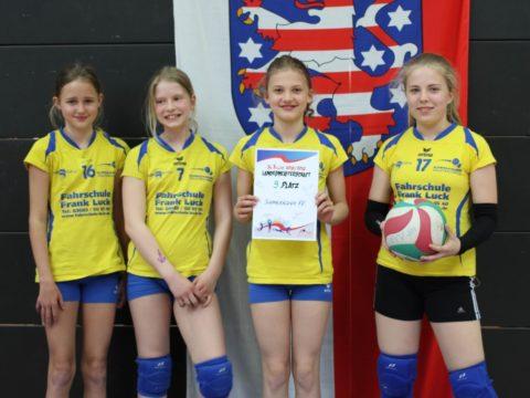 Finale der Landesmeisterschaft U13 weiblich