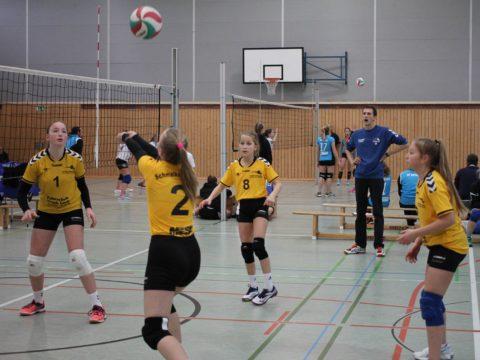 4. Runde der Landesmeisterschaft U14 weiblich