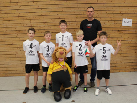 1. Runde  – Landesmeisterschaft U12 männlich