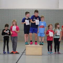 Ball-über-die-Schnur-Turnier der Martin-Luther-Grundschule Schmalkalden