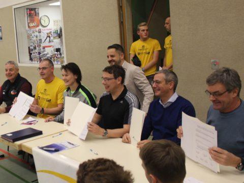 """Eröffnungsveranstaltung """"Volleyball macht Schule"""" in Suhl"""