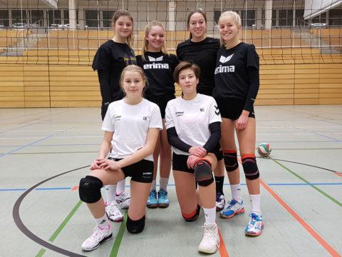 """Schulvergleich """"Jugend trainiert für Olympia"""" Wettkampfklasse II weiblich KREISFINALE"""