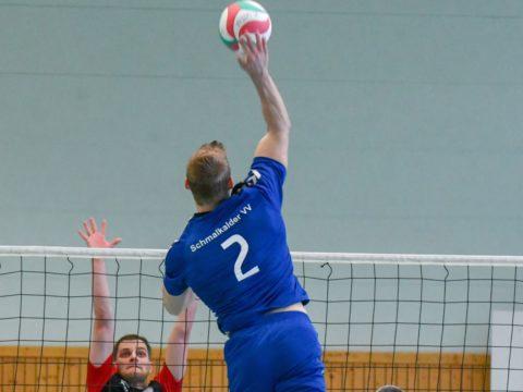 Schmalkalder VV (Herren I) : Volleyball Club Gotha II (Herren)
