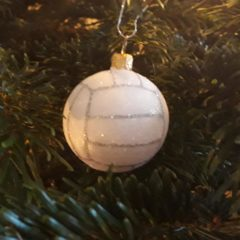 """Challenge: Wer findet das schönste  Motiv """"Volleyball und Weihnachten"""""""